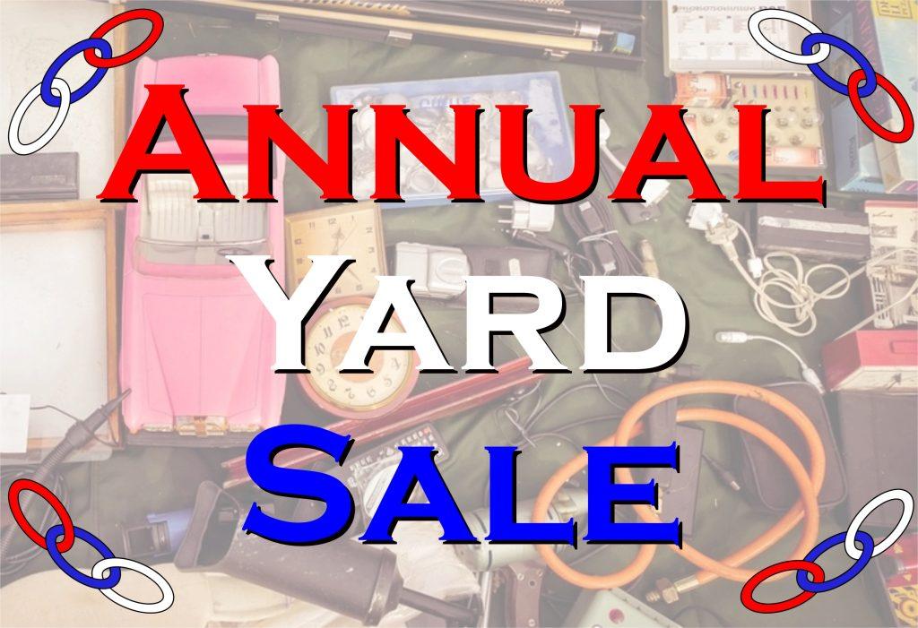 Morro Bay Odd Fellows Yard Sale